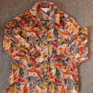 Floral Overshirt